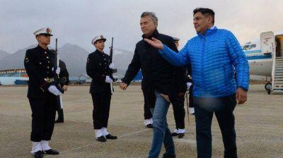 Mauricio Macri visita Tierra del Fuego y Santa Cruz por primera vez