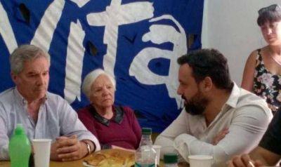 El Movimiento Evita de Necochea se reunió con Felipe Solá