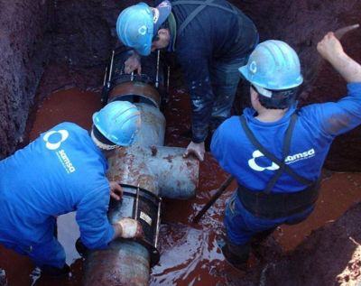 El drama del agua: Otra fuga en el acueducto sur y se detuvo el bombeo