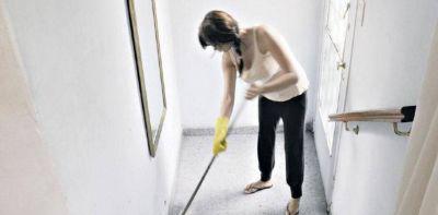 Suben desde este mes los aportes al personal de servicio doméstico