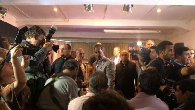 Scioli se lanza a presidente y arma un gabinete con Berni y Di Palma