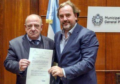 Arroyo envió al Concejo el nombre de Emiliano Giri para la Presidencia de Obras Sanitaras