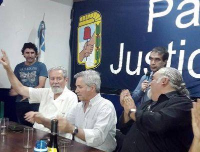 Felipe Solá y Carlos Kunkel disertaron en el Partido Justicialista de Mar del Plata