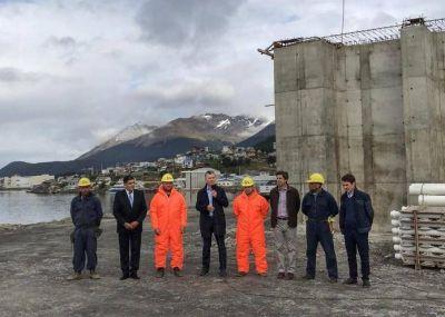 Mauricio Macri recorrió una planta de tratamientos cloacales en Ushuaia