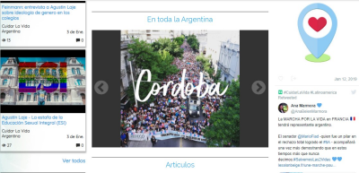 Lanzan la primera red social latinoamericana por la vida
