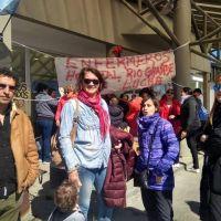 SUTEF y CTA-A presentes en el reclamo de los Enfermeros del Hospital de Río Grande