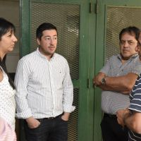 Nardini apuesta a la infraestructura escolar