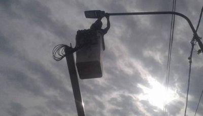 La Municipalidad de Escobar instaló 110 nuevas luminarias y reparó 2170 puntos de luz