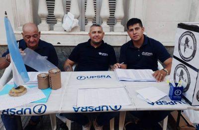 Los vigiladores eligieron a Julio Gutiérrez como nuevo líder de la UPSRA