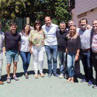 Molina encabezó la apertura de Escuelas Abiertas en Verano