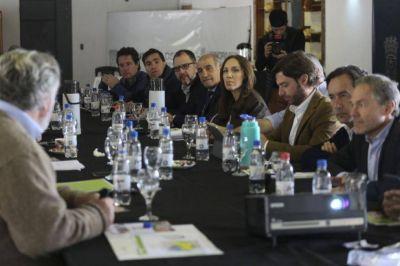 Vidal encabeza la primera reunión de gabinete del año