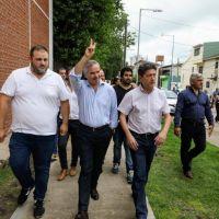 Solá en el Conurbano duro con Vidal: