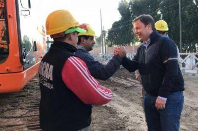 El intendente Cascallares exige a la Nación la construcción de pasos bajo nivel