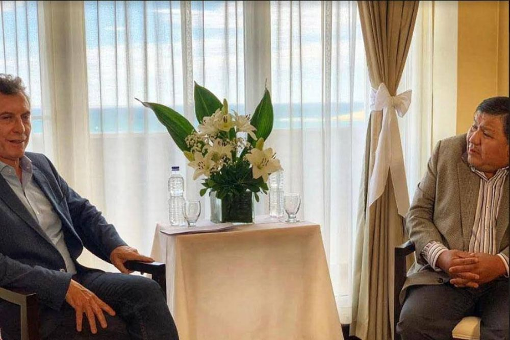 Ávila pidió a Macri una mesa de diálogo para potenciar inversiones