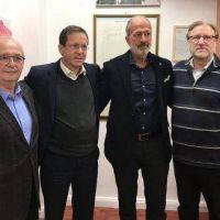 Dirigentes de la comunidad judía argentina se reunieron con el presidente de la Agencia Judía en Jerusalén