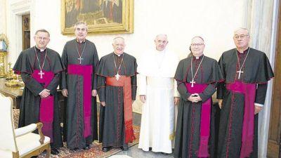 El Papa recibió a obispos chilenos