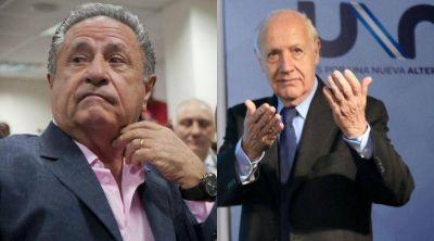 Duhalde volvió a respaldar a Lavagna para la elección y desde el kircherismo pusieron reparos