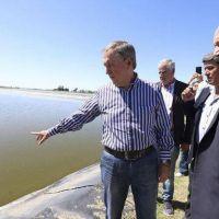 El gobernador Schiaretti inauguró en Vicuña Mackenna la ampliación de la planta cloacal