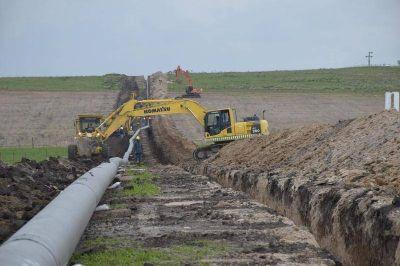 Inauguran la expansión del gasoducto Barker - Necochea