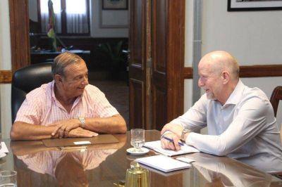 Consejero Real de Dinamarca honró con su visita al Intendente Sánchez