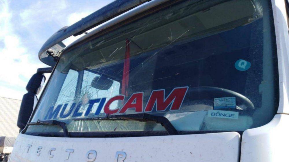 Camioneros reclaman más seguridad en las rutas de acceso al Puerto