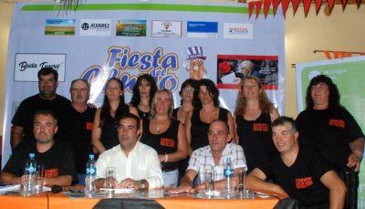 PUAN: Castelli realizó el lanzamiento de la 8° Fiesta del Churro en Villa Iris