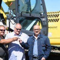 Bordoni pone en la mira en la mejoras de caminos rurales