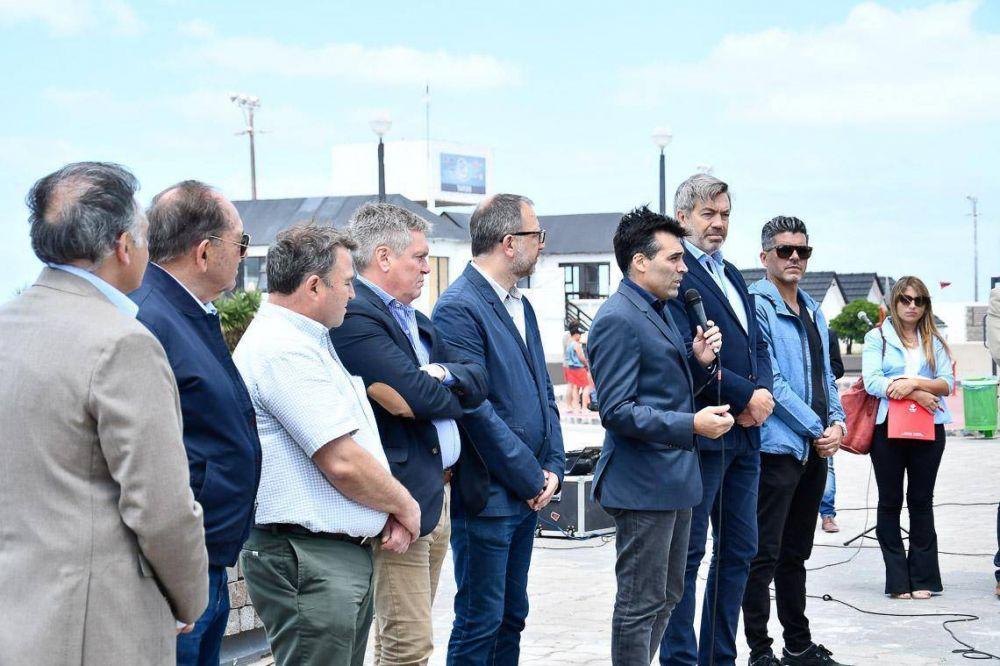 """López: """"Esta ampliación del gasoducto potencia a la región"""""""