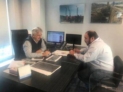 Ranchos: El Intendente Alvarez se reunió con el gerente de ABSA