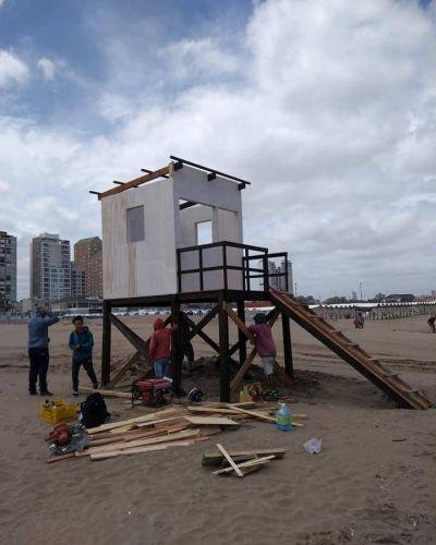 Cinco nuevos refugios para guardavidas