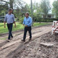 Palpalá: obras para red de agua y cloacas en Av. Del Congreso