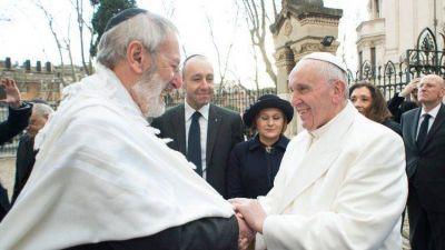 Papa: reparar los daños causados por la incomprensión entre judíos y cristianos