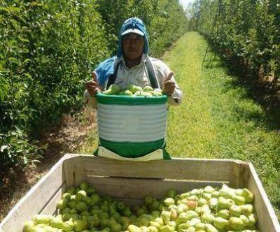 Cerró en 42% el aumento para los trabajadores de la fruta