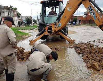 Concordia: Cambiaron la electrobomba que abastece de agua a los barrios San Juan y Cresto
