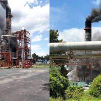 Susto por un principio de incendio en la destilería de YPF en La Plata