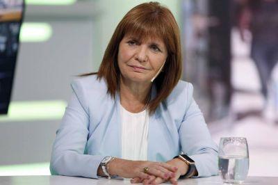 Patricia Bullrich, la ministra más popular según las encuestas que mira el Gobierno