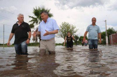 Contrapunto entre Coninagro y el Gobierno por obras hídricas en el Litoral
