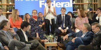 El PJ Federal muestra a sus tres candidatos y abre una incógnita sobre Roberto Lavagna
