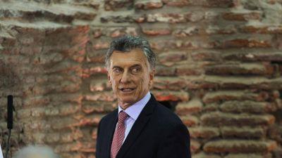 Según una encuesta, Macri recuperó dos puntos de imagen positiva