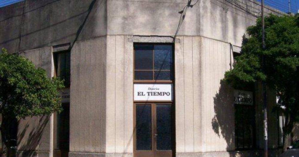 Temor de despidos entre los 30 trabajadores del diario El Tiempo de Azul