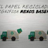 Reciclar papel: una actividad que ayuda a salvar bosques, producir menos basura y ahorrar dinero y energía