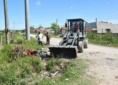 Tareas para evitar la acumulación de residuos en la vía pública