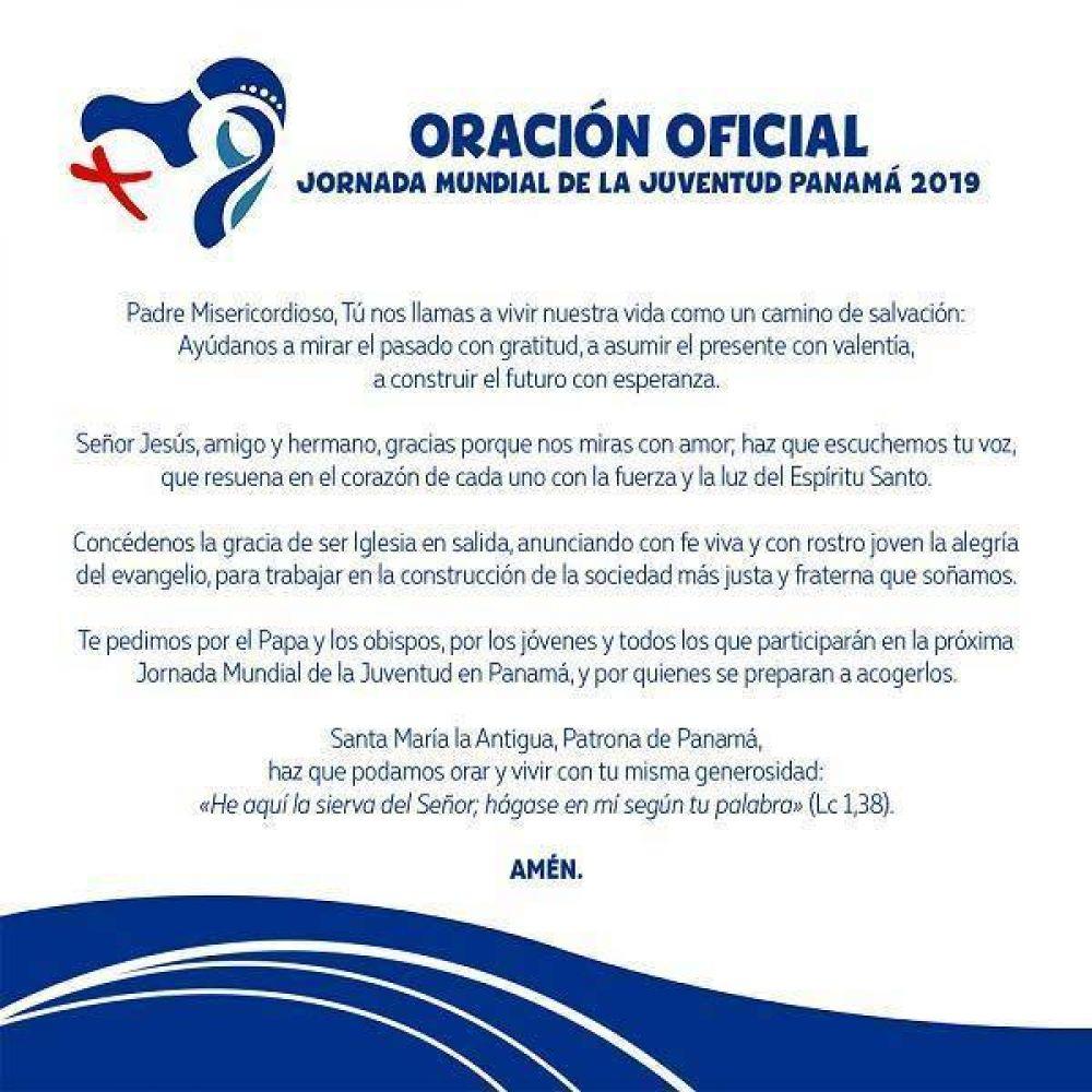 Oración oficial para la JMJ Panamá 2019