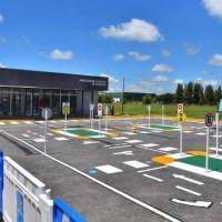 Sujarchuk inauguró las nuevas oficinas de Licencias de Conducir