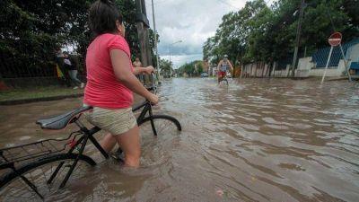 Inundaciones: el Gobierno declaró la emergencia hídrica por 180 días