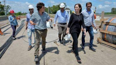 María Eugenia Vidal inaugurará el jueves una obra clave para evitar las inundaciones en La Plata