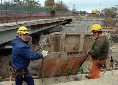 Así son las obras en el arroyo El Gato por las inundaciones