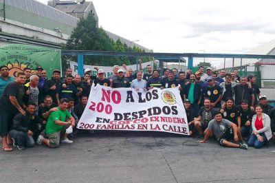Los trabajadores de Cofco se movilizan al Ministerio de Trabajo bonaerense