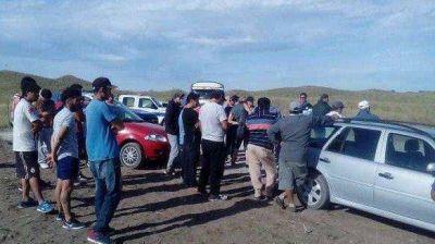 Mayor Buratovich: nueva protesta frente al parque eólico