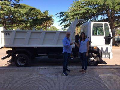 El municipio adquirió un camión para recolección de material reciclable